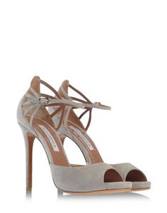 FRENCH 75 sandal in suede in ethereal cloud. #exclusive