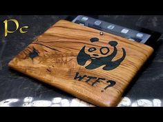 DIY How to make a case for the iPad made of wood by their hands. Как сделать…