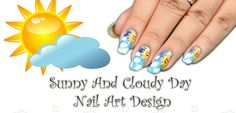 wikiHow to Cloudy Nail Art -- via wikiHow.com