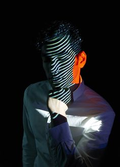 Photographer Mads Perch's Ethereal Light Projection Portraits Will Hypnotize You