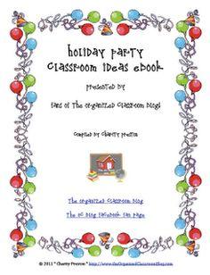 Sunny Days in Second Grade: Holiday Ideas Ebook