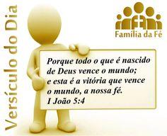 versiculo sobre servir a deus | deus vence o mundo e esta e a vitoria que vence o mundo a nossa fe i ...