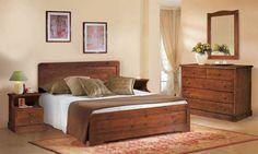 Camere da Letto in pino, Camera Valentina, Arredamenti Rustici