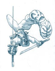 Urban ninja, gas mask for days. Action Pose Reference, Figure Drawing Reference, Drawing Reference Poses, Drawing Poses, Hand Reference, Drawing Tips, Character Poses, Character Art, Character Design