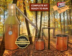 6 Gallon Copper Moonshine Liquor Distillation Unit w/ Lifetime Warranty (100% Complete Ready to Use)For sale, Order Now