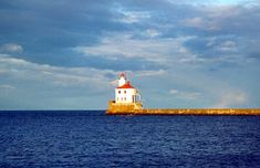 Wisconsin Point (Superior Entry Breakwater) Lighthouse, Wisconsin | Lake Superior