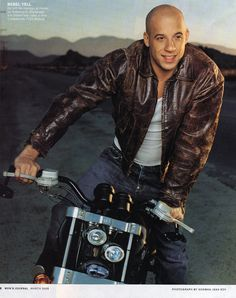 Vin Diesel- English, German, and Scottish Heritage from his mother. It is not known who his father was.