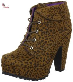 Blowfish Vance Lace Bootie BFED014 AU12, Boots femme - Noir-TR-H5-210, 41 EU - Chaussures blowfish (*Partner-Link)
