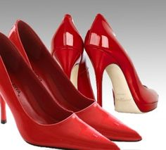 Why you need red pumps to use Pinterest
