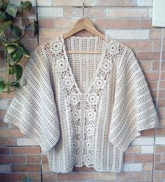 Crochet Shrug Pattern Free, Filet Crochet Charts, Crochet Poncho Patterns, Gilet Crochet, Crochet Cardigan, Crochet Top, Crochet Summer, Black Crochet Dress, Thread Crochet