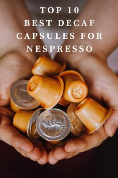 Recently I've tried dozens of different types of decaf Nespresso capsules to find experiment with their flavor and quality. If you're looking for the best decaf for Nespresso, I have a few amazing suggestions. There are a few reasons why you want to find a good decaf. Perhaps you're cutting back on caffeine, or you're looking for an evening, after dinner, dessert espresso. #decaf Coffee Cream, Coffee Type, Black Coffee, Coffee Canister, Coffee Spoon, Coffee Mugs, Types Of Coffee Beans, Different Types Of Coffee, Acquired Taste