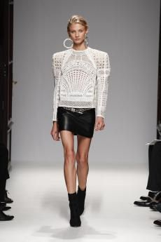 Balmain Women's Collection   Printemps-Été 13 Look #21