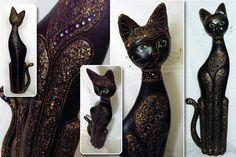 Кошка из папье-маше мастер класс