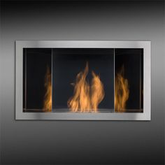 Planika Reflexo Stainless Ethanol Fuel Burner Insert - I'm personally not so keen on this one