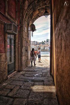 "A.G_Photograph ""Junto à Ribeira"" Porto City, Porto Portugal, Douro, Port Wine, Cruise, 1, River, Explore, Places"