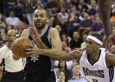 Tony Parker anota 25, Spurs mantienen su dominio sobre Kings - http://a.tunx.co/f3R1Z