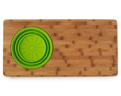 SINK DRAINER CUTTING BOARD | Two in One Board, Colander | UncommonGoods