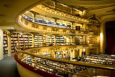Ateneo Grand Splendid - former Buenos Aires theater converted to bookstore