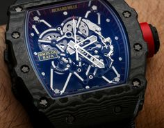 Richard Mille RM 35-01 Rafael Nadal NTPT Carbon Watch Hands-On