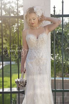 Kenneth Winston Style 1615 | Bliss Bridal Photo By Jenny King Photography