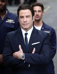 John Travolta--my husband--lol