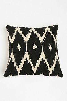Urban Outfitters — Magical Thinking Crewel Ikat Pillow