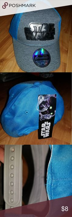 *3 For $15* Star Wars kids Snapback Brand new with tags. Bundle and save with other 3 for $15 items. Star Wars Accessories Hats
