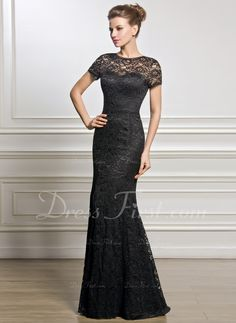 c64833e537c1   181.99  Trumpet Mermaid Scoop Neck Floor-Length Lace Mother of the Bride  Dress (008056831)