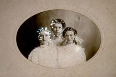 By Amy Friend, 2012. Altered vintage photograph.