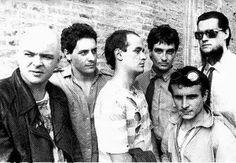 De izquierda a derecha: Luca prodan, Ricardo mollo, German daffunchio, Diego…