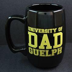 University of Guelph Bookstore - U of G Dad mug Dad Mug, Larger, Dads, University, Spirit, Beer, Tableware, Image, Fathers