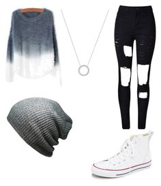 """""""Untitled #60"""" by taylorferrell ❤ liked on Polyvore featuring Converse, KBETHOS and Michael Kors"""