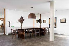 Open house | Angela Renoldi. Veja: http://casadevalentina.com.br/blog/detalhes/open-house--angela-renoldi-3188 #decor #decoracao #interior #design #casa #home #house #idea #ideia #detalhes #details #openhouse #style #estilo #casadevalentina #diningroom #saladejantar