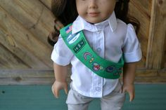 American Girl Doll Clothes  Junior Scout by camelotstreasures, $11.00