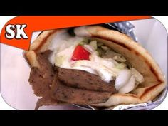 HOW TO MAKE GYROS Γύρος or Doner Kebab - Home Made without a Rotisserie - YouTube