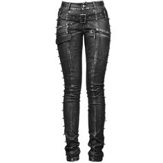 Punk Rave Skinchanger Trousers ❤ liked on Polyvore