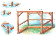 Building A Shed 572801646356388370 - Build a sturdy woodshed that will keep firewood stacked, dry and ready for use. Includes materials list, plan, and building instructions. Diy Storage Shed Plans, Wood Storage Sheds, Wood Shed Plans, Shed Building Plans, Outdoor Storage Sheds, Wooden Sheds, Building Permit, Cabin Plans, Pergola