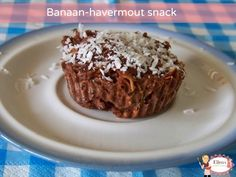 Banaan-havermout snack Pudding, Desserts, Food, Deserts, Custard Pudding, Puddings, Dessert, Meals, Yemek
