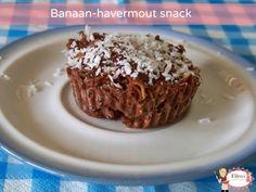 Banaan-havermout snack