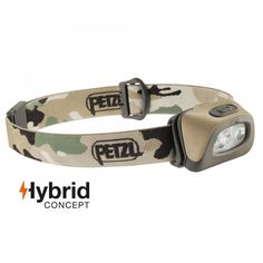 Petzl TACTIKKA  250 Lumen Neue Version| Kompakte 250 Lumen Stirnlampe ideal zum Jagen und Angeln.