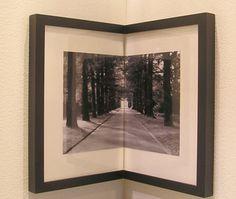 corner wall frames