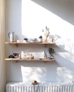 that light and those shelves #decor