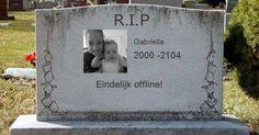 Wat zal er op je grafsteen geschreven staan?