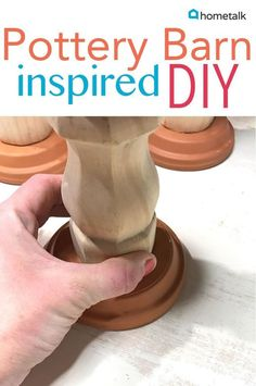 If you can use glue, you can make these gorgeous candlesticks! (affiliate)