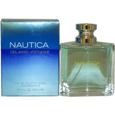 Nautica Island Voyage by Nautica for Men Eau De Toilette Spray 3.4-Ounce by NAUTICA. $27.98. This item is not for sale in Catalina Island. Packaging for this product may vary from that shown in the image above. Launched by the design house of Nautica.When applying any fragrance please consider that there are several factors which can affect the natural smell of your skin and, in turn, the way a scent smells on you.  For instance, your mood, stress level, age, body chemist...
