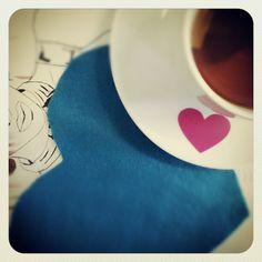 {heartea} artea - @nnaeel1- #webstagram Tableware, Dinnerware, Dishes