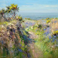 Rex PRESTON - Sunny Day Spring, Cornwall