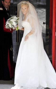 Royal Wedding Zara Phillips and Mike Tindall
