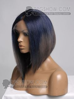 Stock Ombre Color BOB Full Lace Wig - Straight - NB003-s [NB003] - $322.99 : Full Lace Wigs|Lace Front Wigs|Lace Wigs @ RPGSHOW