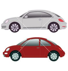 2012 new beetle vector 815881 - by m311060 on VectorStock®